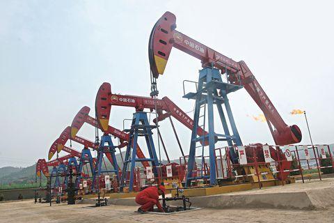 """国际油价大跌,国内成品油却迎""""七连涨""""?"""