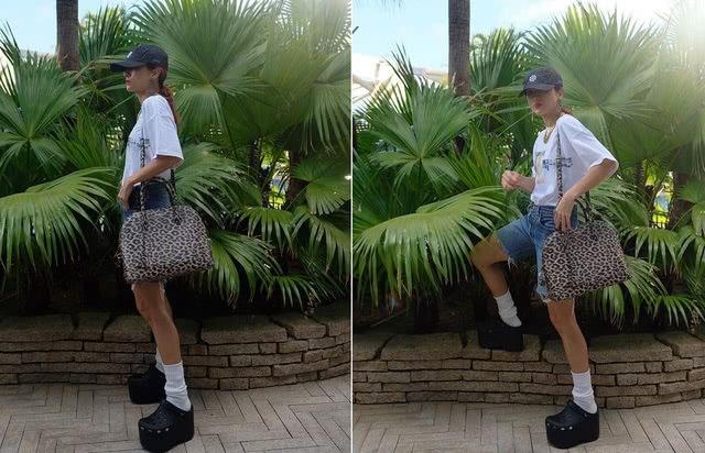 """徐濠萦秀出""""本季最丑""""的鞋子,网友:世上只有你敢穿"""