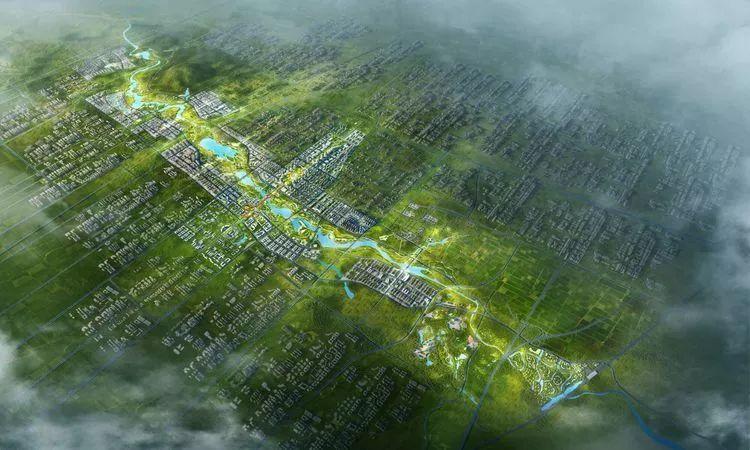 章丘绣源河片区规划图