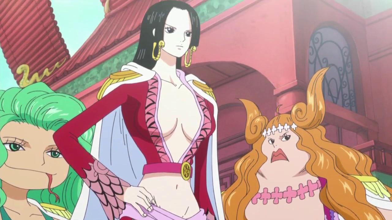 长久以来,在海迷心目中,女帝波雅汉库克都是海贼王的第一美女.