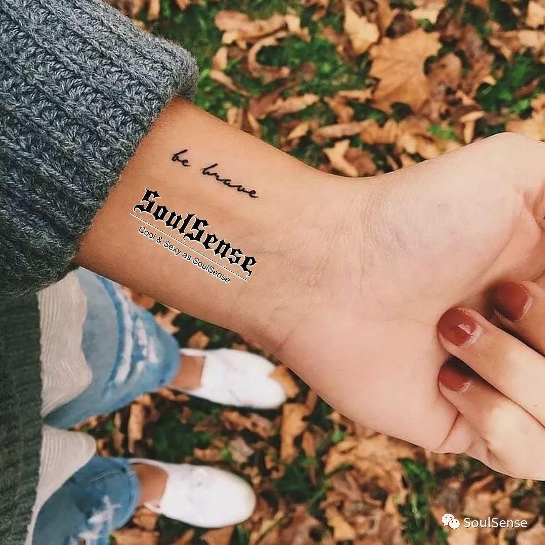 这几句话切记不要对纹身女孩说[嘘]