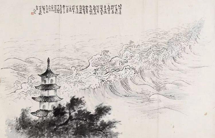 岭南建筑之旅手绘