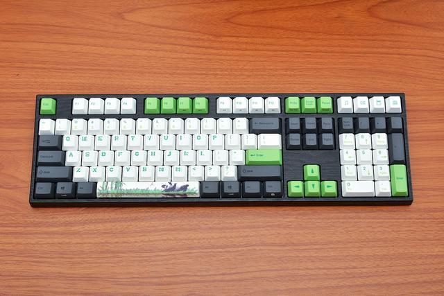 阿米洛樱花之后的熊猫机械键盘,有什么不同?图片