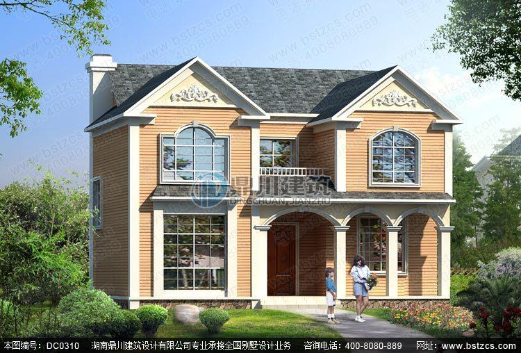 新农村二层小别墅设计图纸_农村自建房设计图纸
