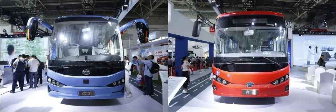 发力中型客车市场,比亚迪全新C7&K7纯电动客车首发上市