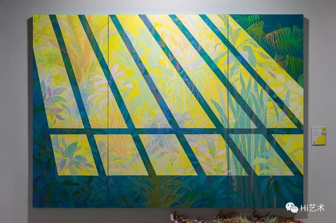 文化 正文  造型学院版画系:张书玮 《愿保存一生的回忆》 70×78cm
