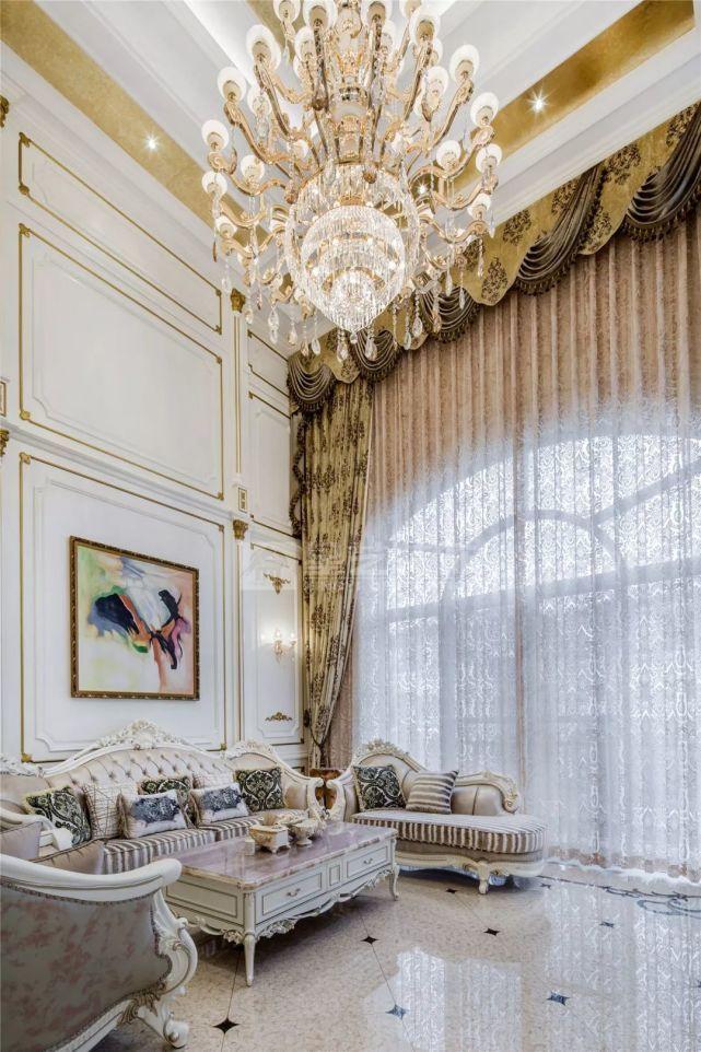乐湾国际550平法式别墅 典雅佩斯利紫营造出的柔美家