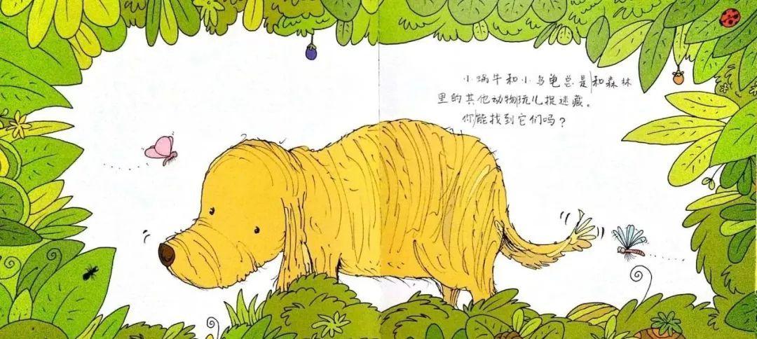小方案和小大象总是和动物里的其他森林找到捉迷藏,你玩儿它们?幼儿园乌龟小班运粮v方案蜗牛图片