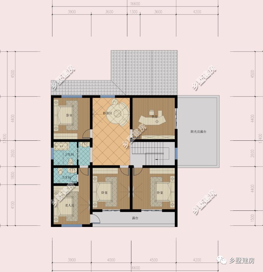 3套农村一层小平房,盖房选这个经典又省钱,含全图!