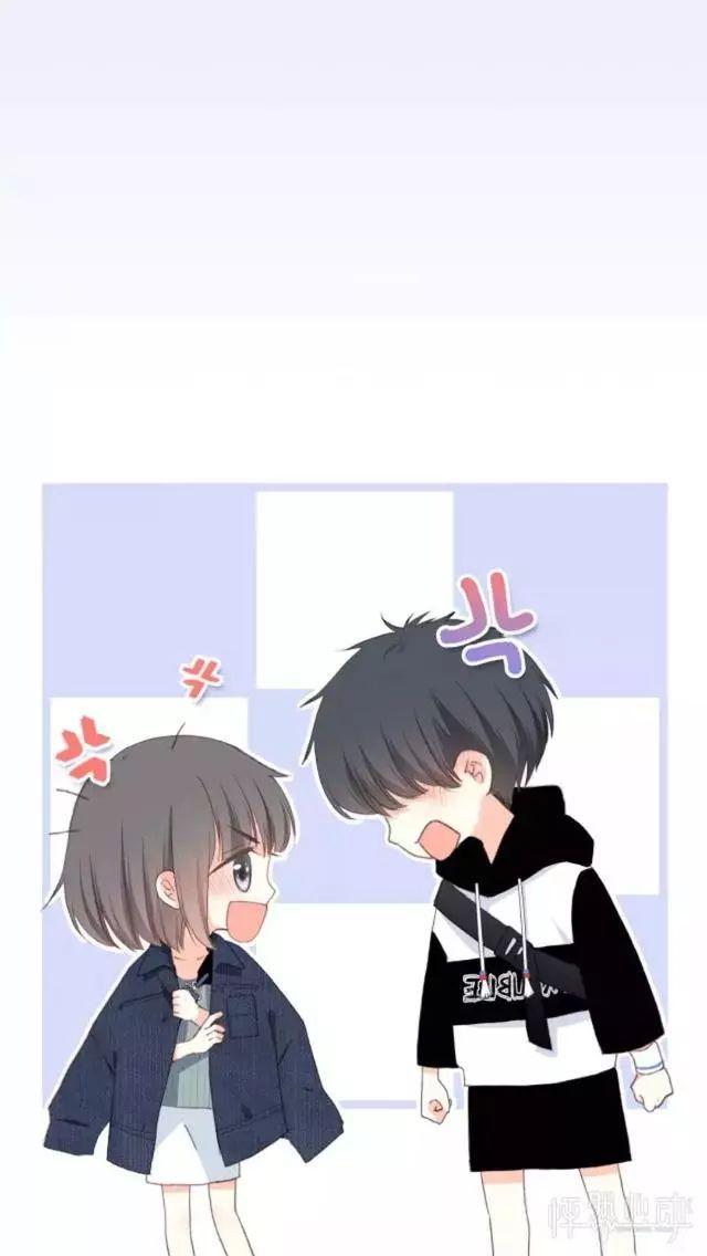 漫画《怦然心动》高清图片壁纸头像,情侣可用哦~我喜欢你