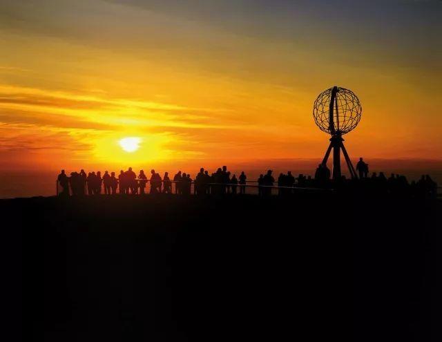 重要公告:北挪威已进入24小时太阳模式!