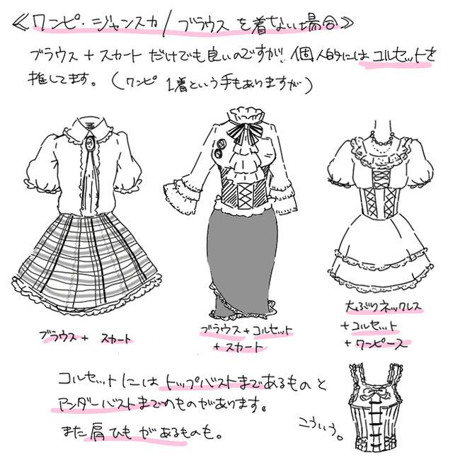 【推荐】漫画古装裙子100种画法