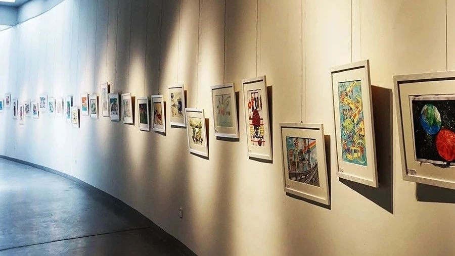 百余幅作品亮相北京国中美术馆   红黄蓝儿童公益画展国际巡展首站图片