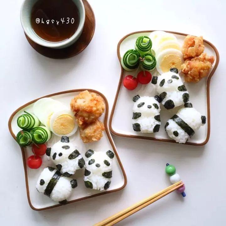 日本妈妈 ins:morningsun3480, 为了让 2 岁多的儿子多吃些白米饭图片