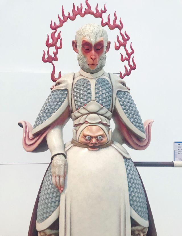 美院的毕业展上,最火的是这对佛系孙悟空!