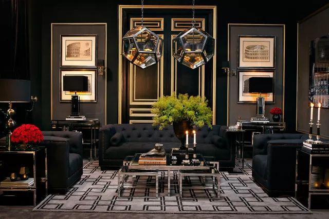时尚 正文  几何设计,色彩和镶嵌艺术 是精致优雅的意式风格必备 镀金