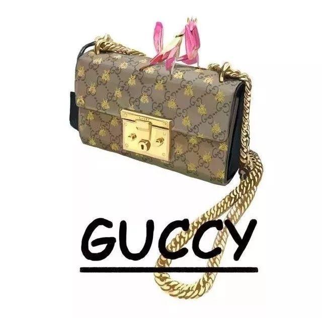 """大牌""""Gucci""""变""""Guccy"""",连包装都这么美!"""