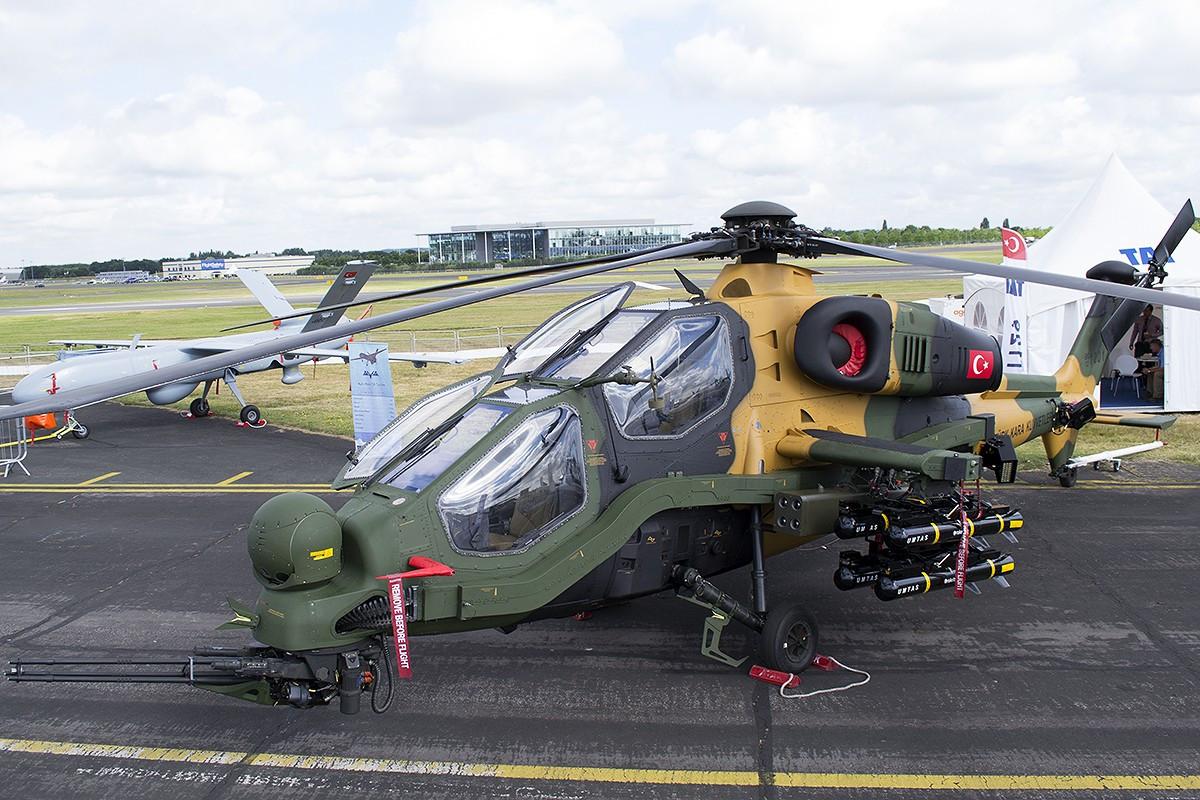 """土巴达成购买武装直升机协议,两国军事合作深化各有""""盘算"""""""