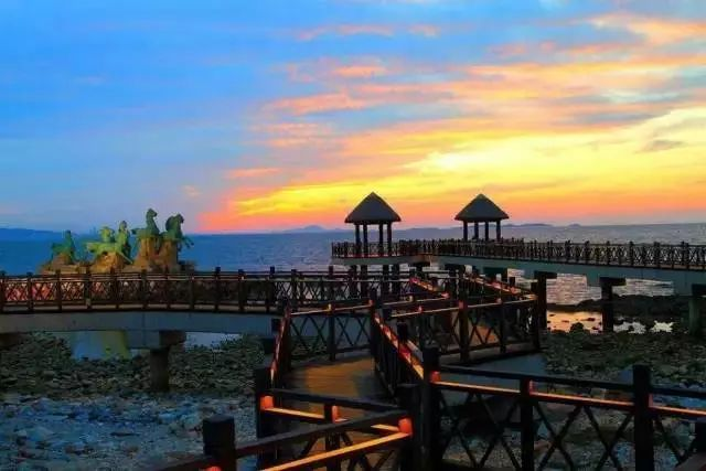 潍坊欢乐海沙滩景区(原滨海区欢乐海岸旅游区) 白浪绿洲湿地公园