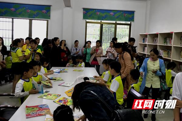 """2018年湖南省""""我的书屋我的梦""""幼儿绘画活动在湘阴启动"""