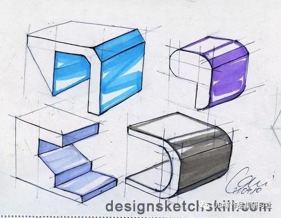 如何画好产品设计手绘图?教你8招线稿练习方法!