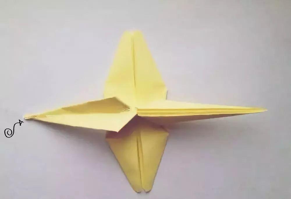 简单的手工折纸小动物,萌化你的心 看一遍就能学会蜻蜓的折法