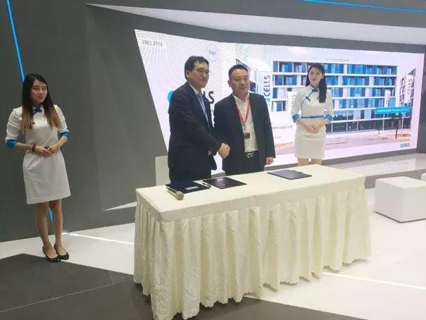 韩华董事长_韩华新能源车间图片