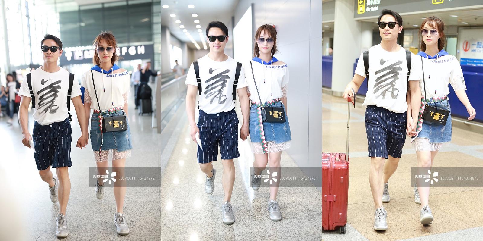 李宇春运动风混搭太帅,机场都变篮球场!