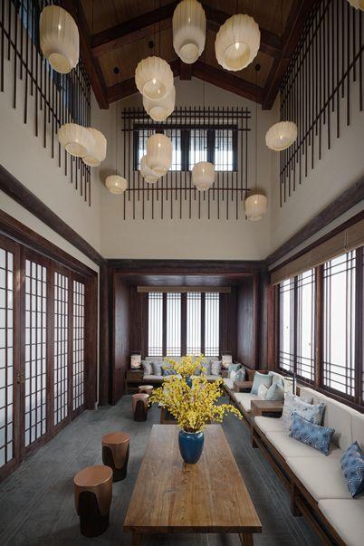 旅游 正文  乌镇悦景庄花间堂在设计中融合了唐朝风格,整体呈现出唯美