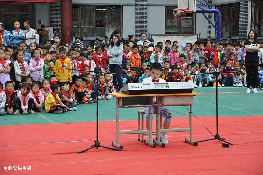天水市伏羲路逸夫小学举行庆 六一 文艺汇演暨表彰活动
