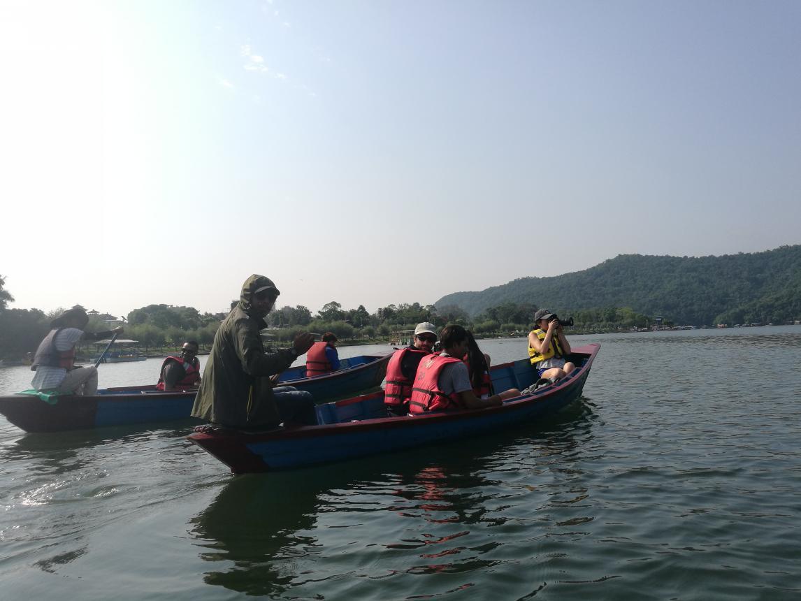 亚太日报走进尼泊尔喜马拉雅旅游节系列—— 博卡拉,湖光山色的最美诠释
