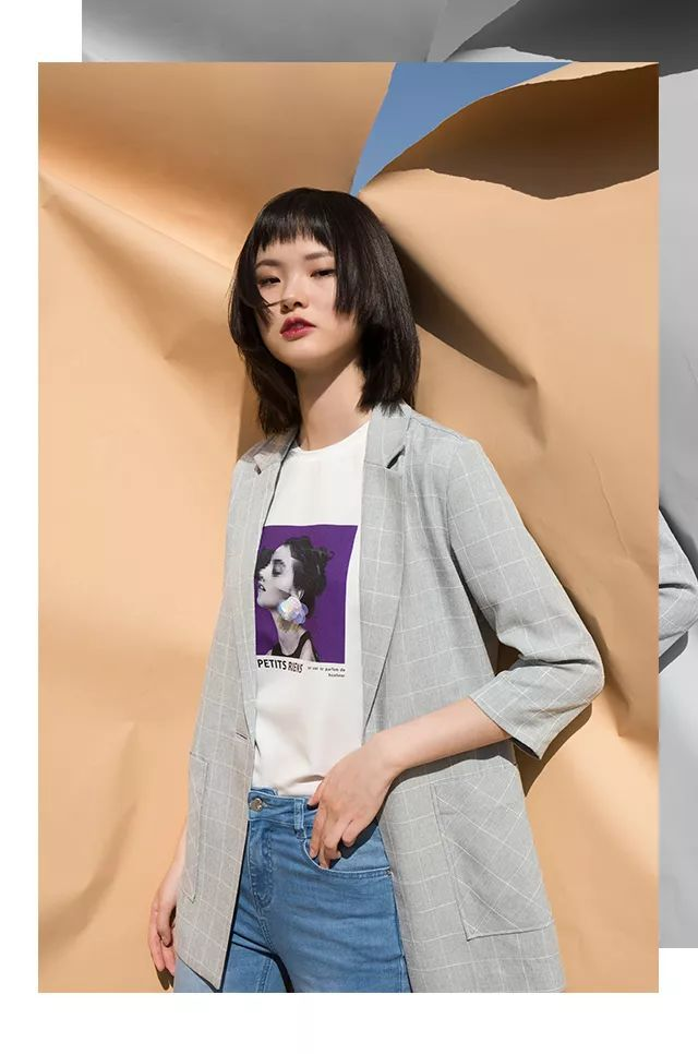 Etam Paris丨加一点紫色,把夏天穿更美
