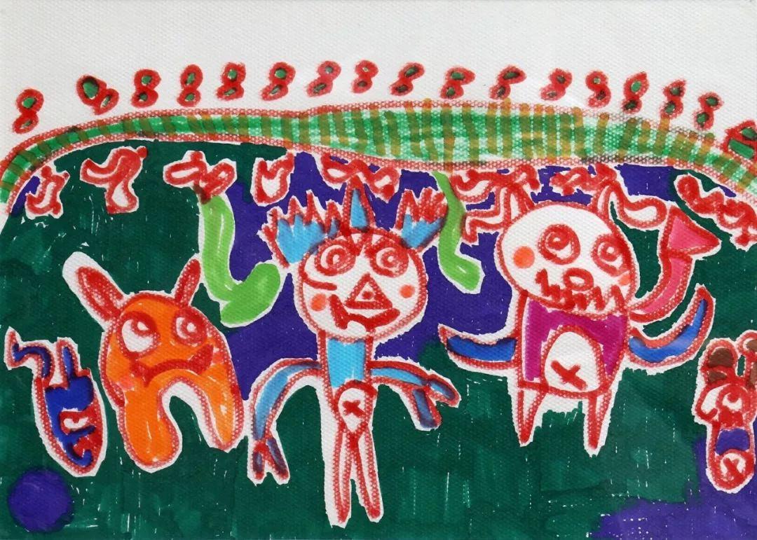 镇书画比赛少儿绘画组获奖名单及作品公布