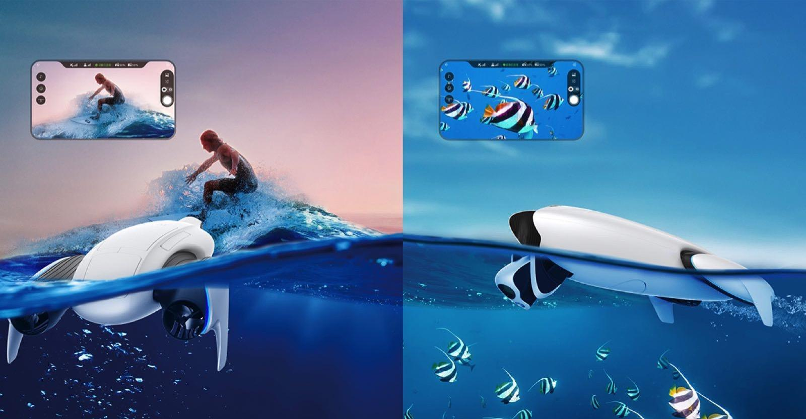 (展位号:n3302)powerdolphin小海豚水下机器人科大讯飞阿尔法蛋系列石祖鱼又叫什么图片