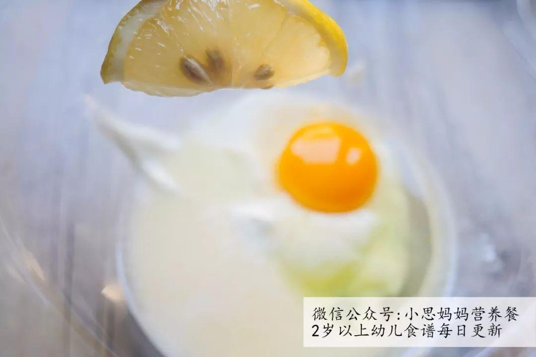 ps:如果蕃薯对年糕过敏的话,只放入蛋清哦,可蛋黄差一些的呢宝宝口感图片