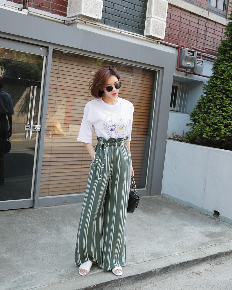 矮个子女生夏季穿衣搭配 高腰阔腿裤让你轻松拥有大长腿6 作者:千叶老师 帖子ID:2560