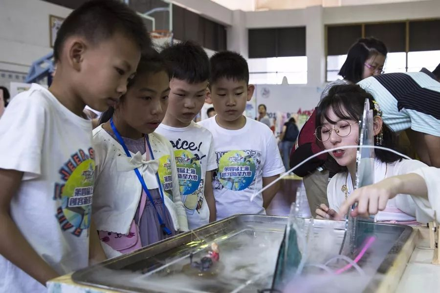 小创客玩转创意!第四届上海创客新星大赛启幕