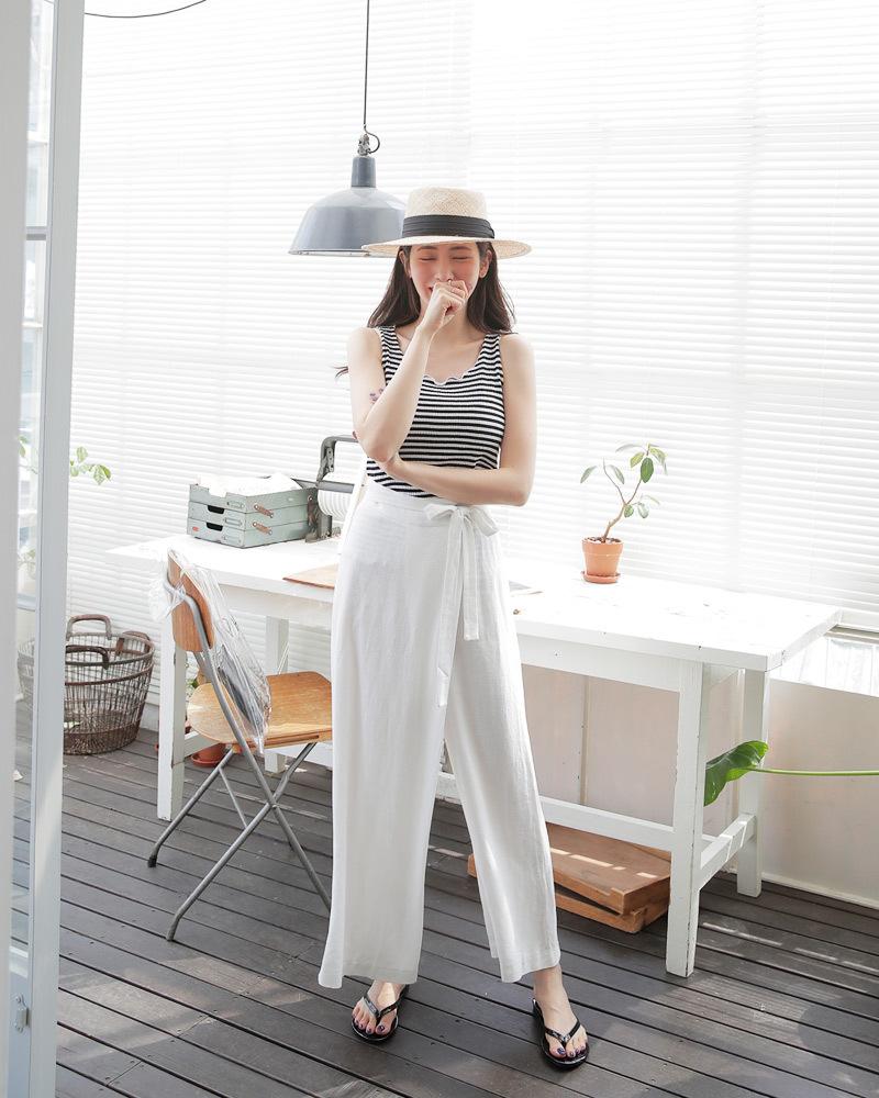 矮个子女生夏季穿衣搭配 高腰阔腿裤让你轻松拥有大长腿22 作者:千叶老师 帖子ID:2560