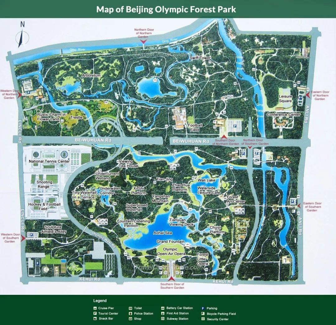 湿地公园平面图设计