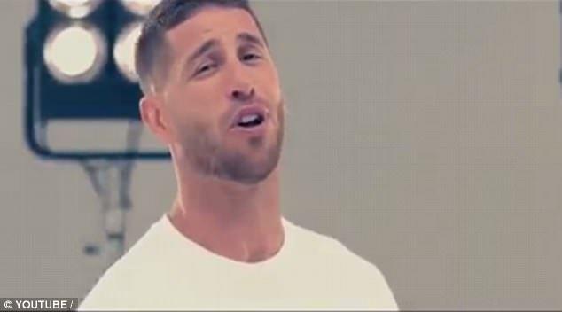 拉莫斯两年后再献歌喉 世界杯为国家队激情献唱