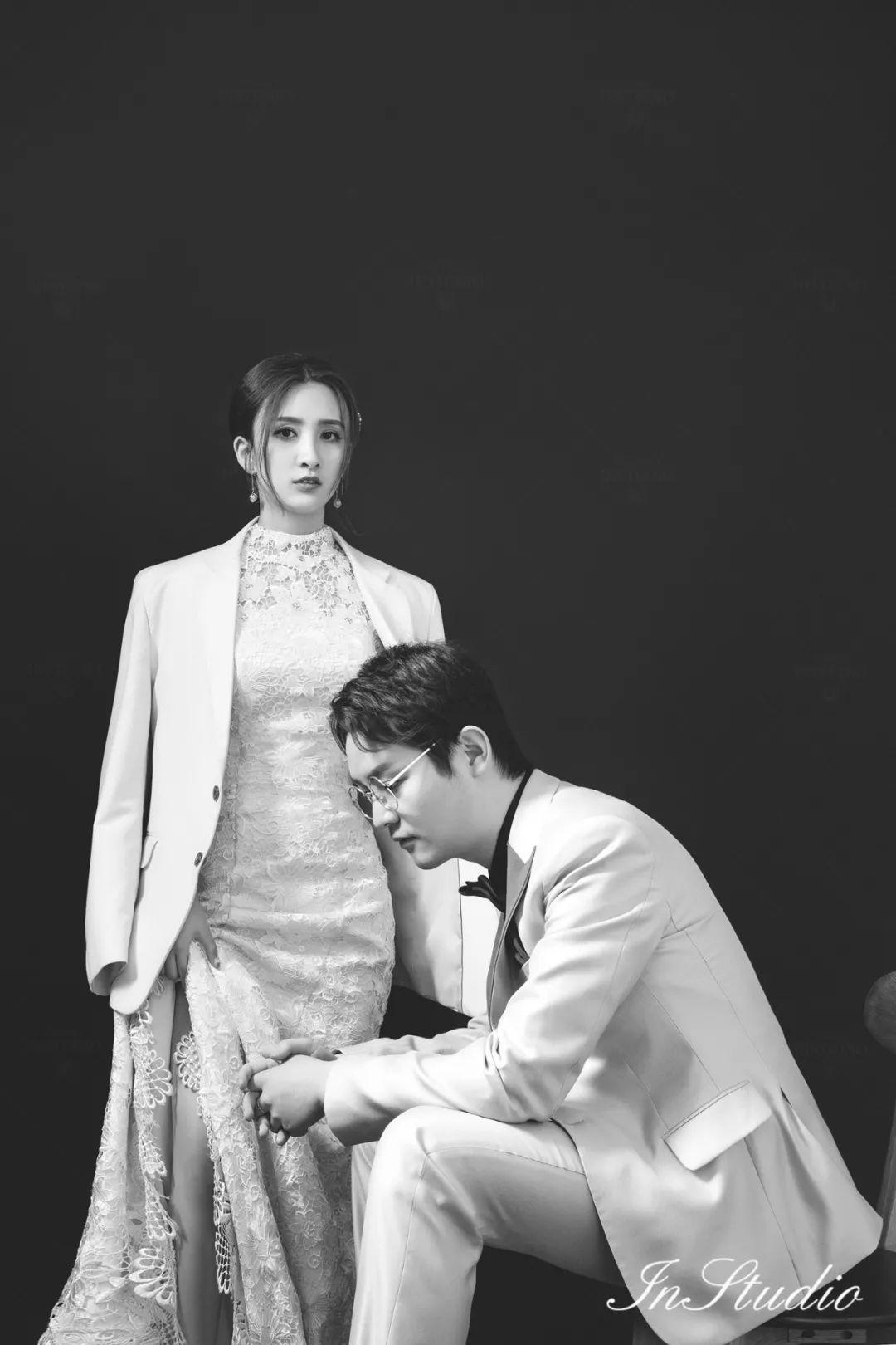 张静杨志刚的婚纱照