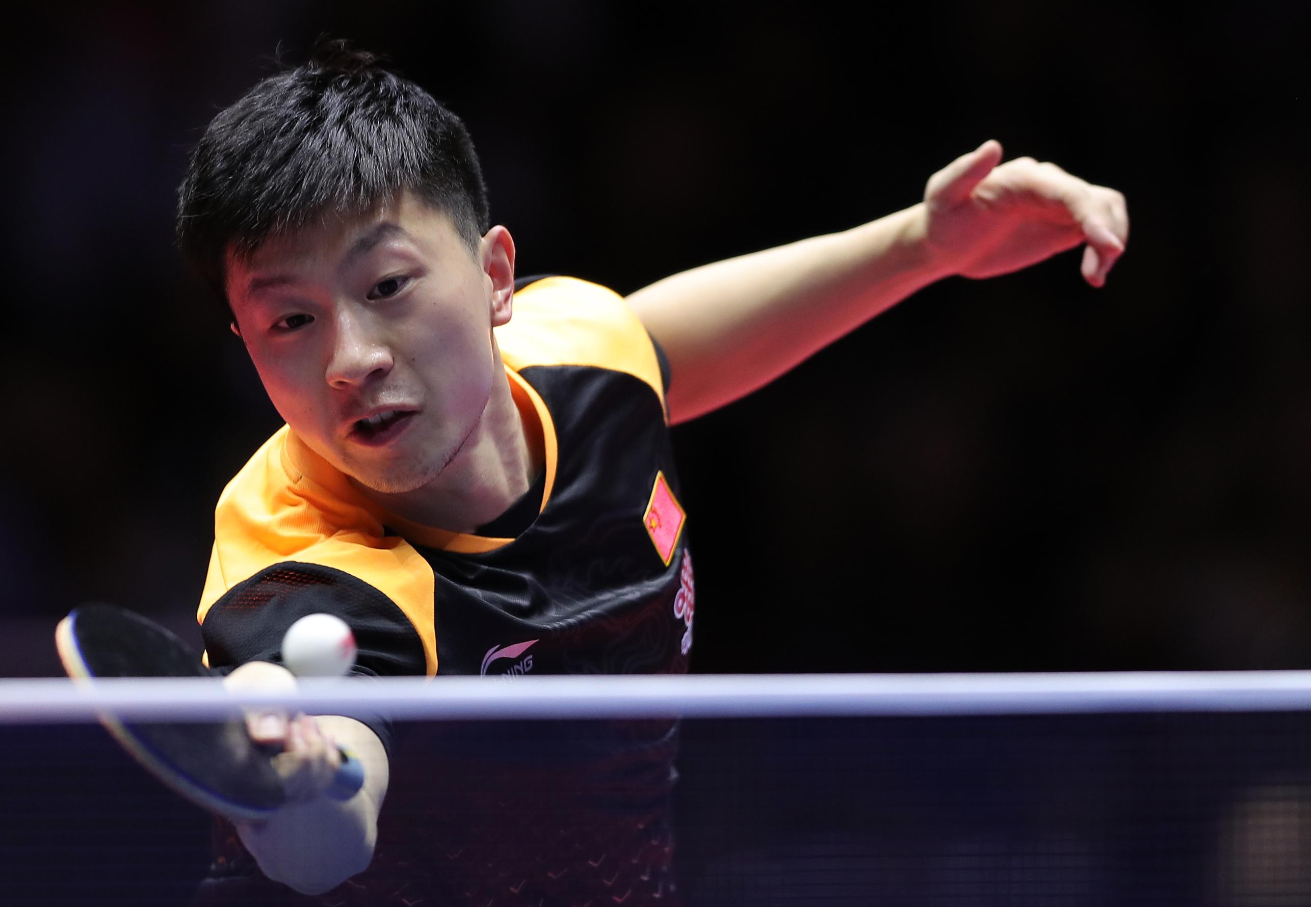中国公开赛马龙樊振东争冠 丁宁王曼昱决赛会师