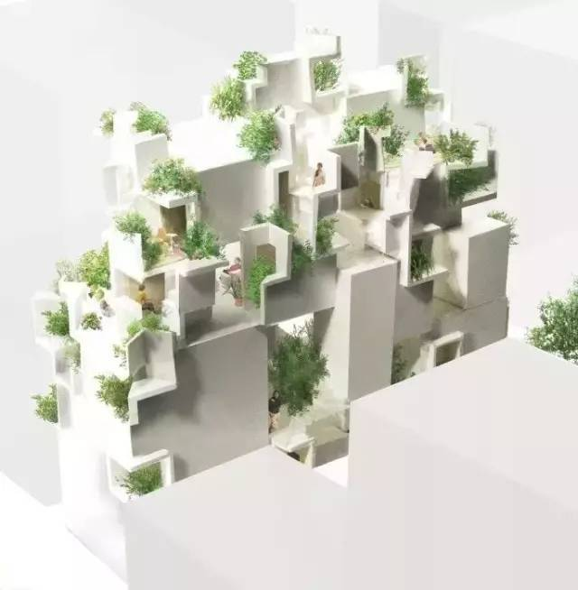 """伊东丰雄徒弟设计的房子用混凝土堆砌了众人惊艳的""""森林之家"""" 行业新闻 丰雄广告第6张"""