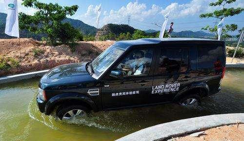 捷豹路虎汽车开发全新涉水测试方法