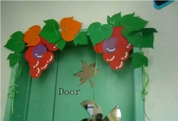【門窗佈置】幼兒園教室精品門飾、班級門牌環境佈置