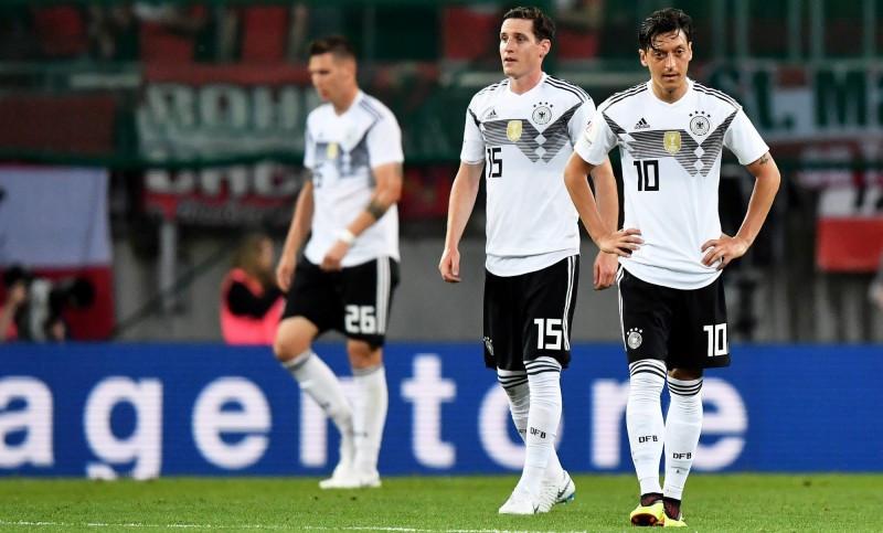 2018世界杯:头号门神复出难救主,卫冕军德国爆冷输给奥地利图片