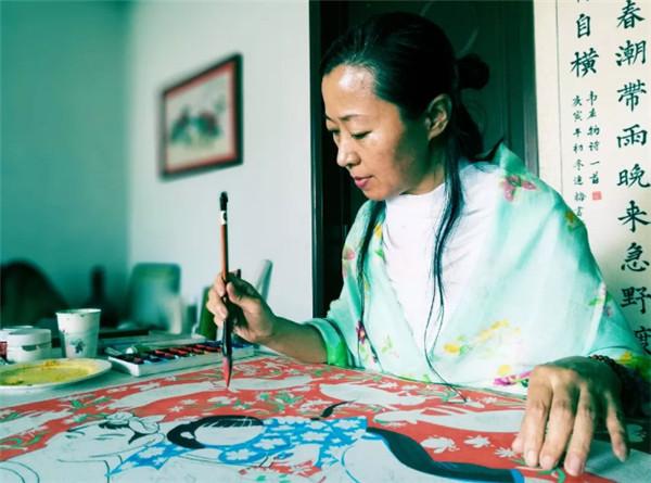 贾连梅农民画的情怀