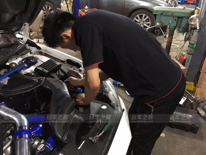 上海车友两年改装三菱翼神 最终轮上185匹