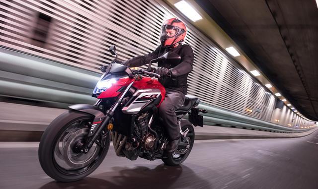 最便宜的进口大排量四缸摩托——本田CB650F只要9万多_陕西快乐十