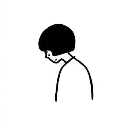 卷发短发戴墨镜女生头像